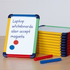 Coloured Frame Laptop Whiteboard