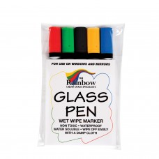 Wetwipe glass and blackboard narrow tip pens