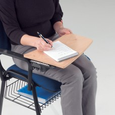 Jane Meeting Room Chair - Writing Tablet