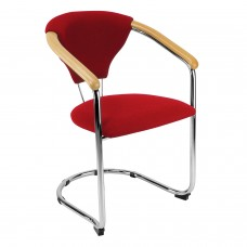 Lena cantilever stacking conference chairs