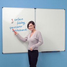 WriteOn Spacesaver Whiteboard- Magnetic