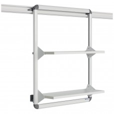 BusyRail Deluxe Shelving Unit