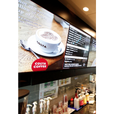 "Digital Menu Board 50"" Screen"