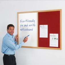 Eco-Friendly Dual Noticeboard