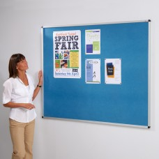 Aluminium Framed Recycled Noticeboard