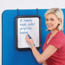 Busyscreen hook over whiteboard