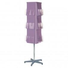 Vibrant 4 Sided Revolving Leaflet Dispenser