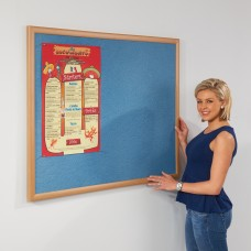 Eco-friendly Light Oak Recycled Noticeboard