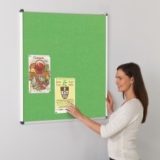 Shield Design ColourPlus Felt Noticeboard
