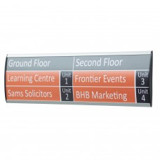 ShowPoint wall sign system - 68mm