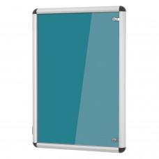 Shield Design Tamperproof Noticeboard - Resist-a-Flame