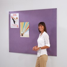 Frameless Recycled Noticeboard