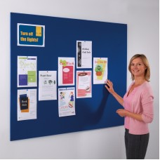 Frameless Resist-a-Flame Noticeboard